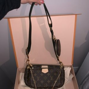 NWT multipochette accessories bag without strap